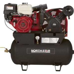 gas-powered air compressor for full time pros